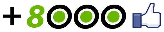 O Boleia.net já conta com 8000 fãs no Facebook!